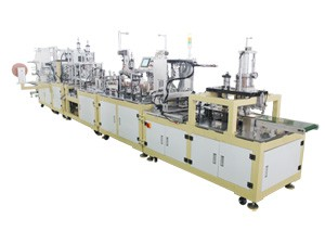 Automatic Production Line for FFP2 Particulate Valved Mask