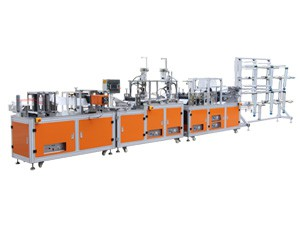 Economical Automatic Production Line for 2D Flat Fold Mask
