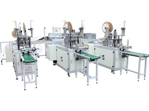 HD-0301 Fully Automatic Disposable Surgical Mask Manufacturing Line