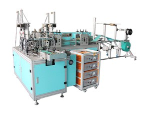 HD-0411 Automatic Medical Disposable Face Masks Production Line
